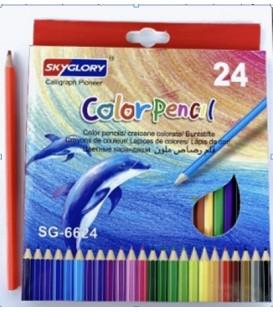 KREDKA 18cm 24 kolorów BU227