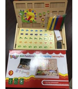 BOX EDUKACJA DREWNIANE (31,7*8,7*3,8 CM) GD686